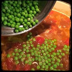 #homemade #beefStew #STPattysDay #CucinaDelloZio - peas