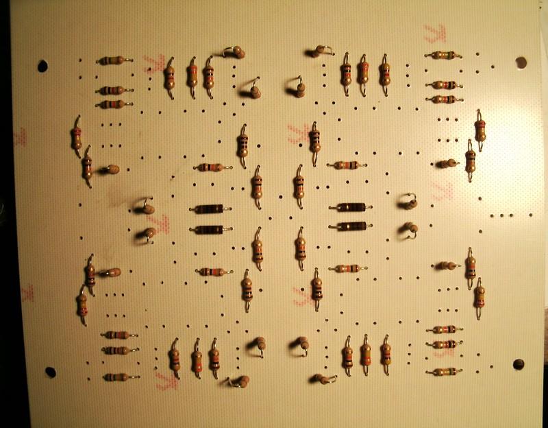 Buchla 410 LPF Resistors