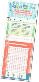 Lotto MAX Kupon Görüntüsü