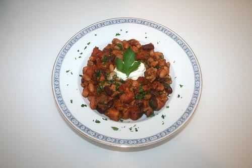 55 - Canadian bean hotpot - Served / Kanadischer Bohneneintopf - Serviert