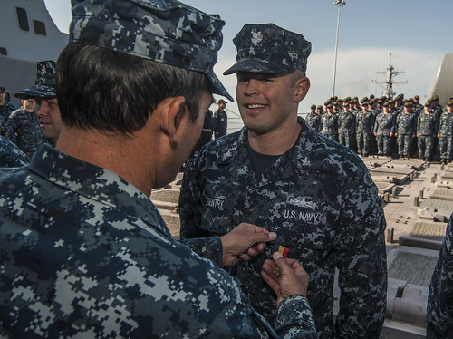 Chancellorsville Sailors Awarded Medals for Heroism and Bravery Following 2013 Drone Strike