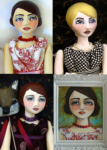Art Dolls by Du Buh Du Designs, Fall 2008