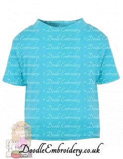 T-shirt - Turquoise copy
