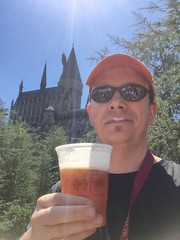 A man and his Butterbeer. :)