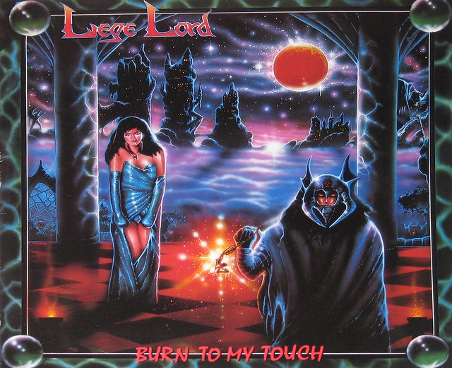"Liege Lord Burn to my Touch 12"" Vinyl LP"