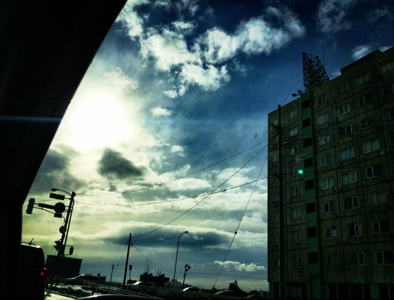 空と雲と光と幻想