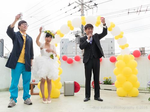 ブエノチキン 路上結婚式-463