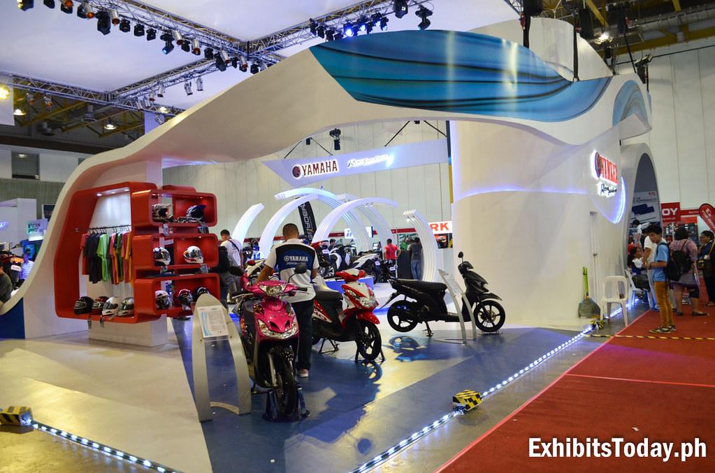 Yamaha Motor Philippines Trade Show Pavilion