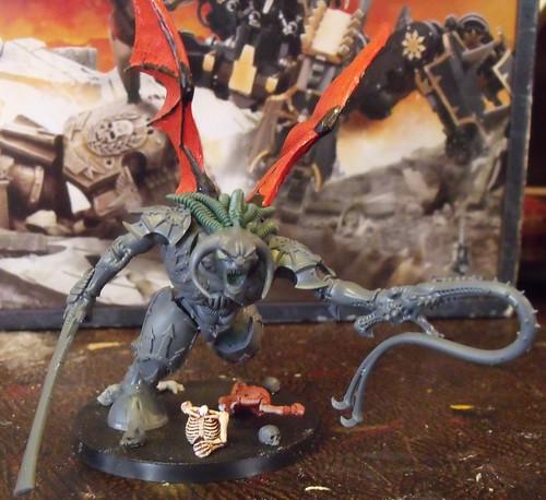 Daemon Prince vs Bloodthirster Daemon Prince Arms