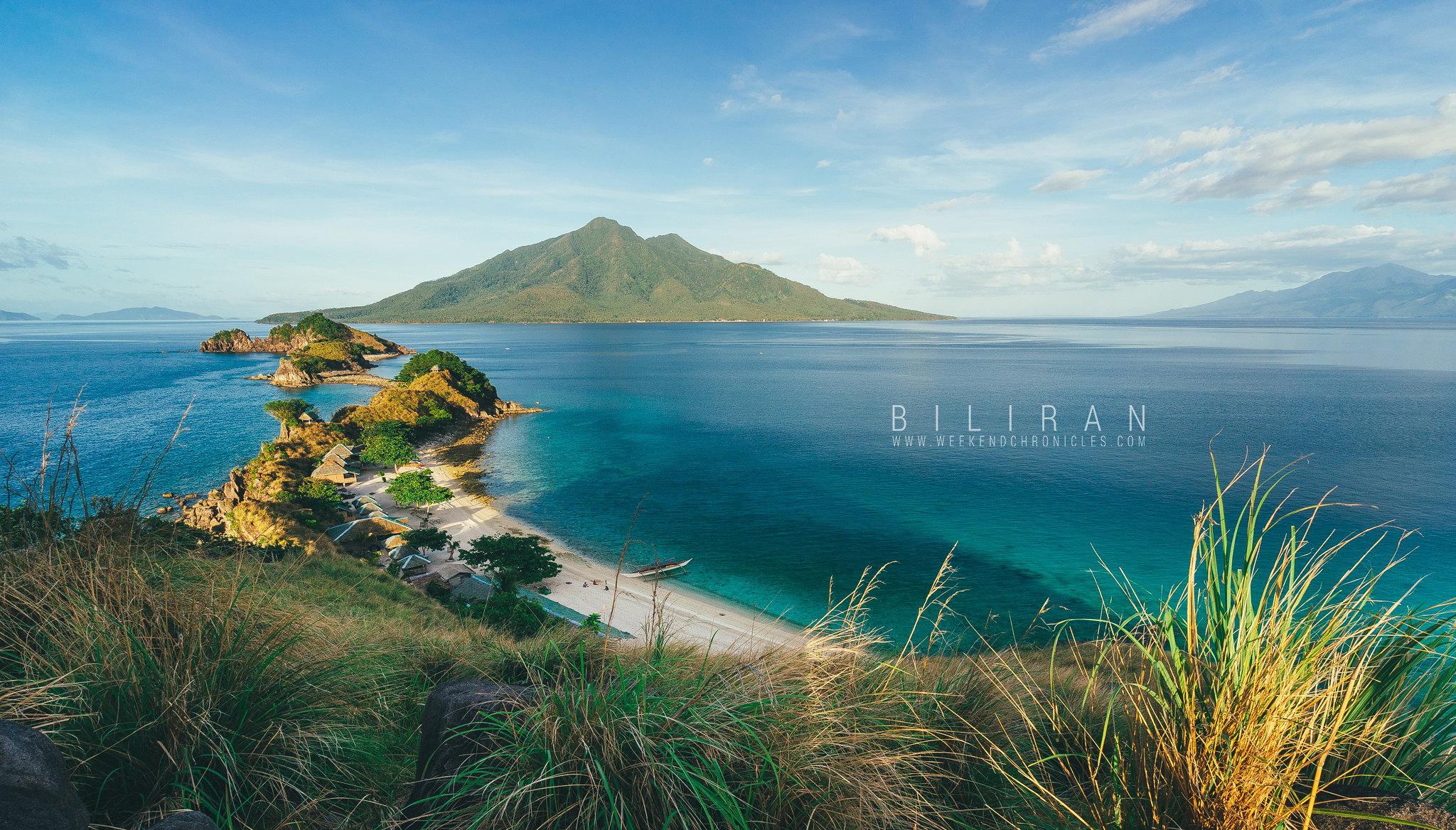 Majestic view of Sambawan Island