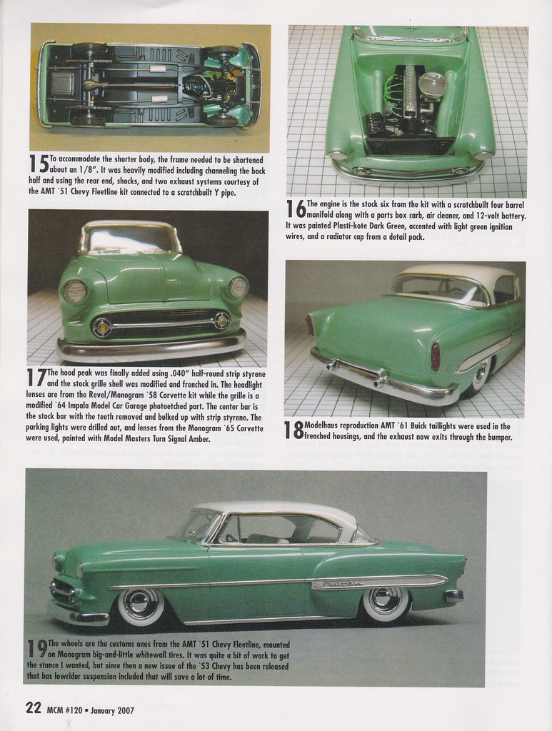 All Chevy 1952 chevy styleline parts : 1951 Scale Modeling Option - ChevyTalk - FREE Restoration and ...