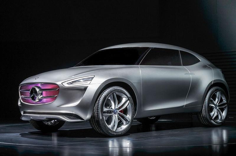 Стильный кроссовер Mercedes G-Code
