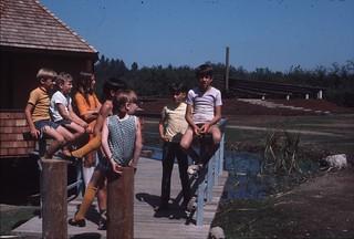 Kids in park, 1971