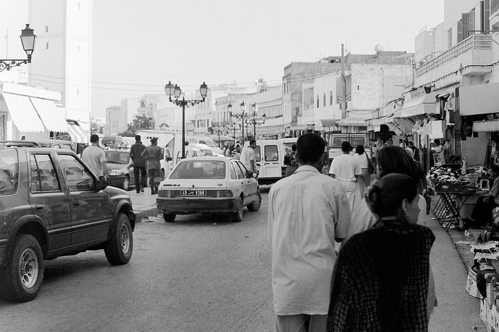 Rue de la Regence, Bizerte, Tunisia, 2005