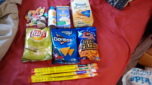 american food snacks