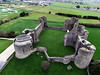 KAP Shot of Roscommon Castle Looking NNW