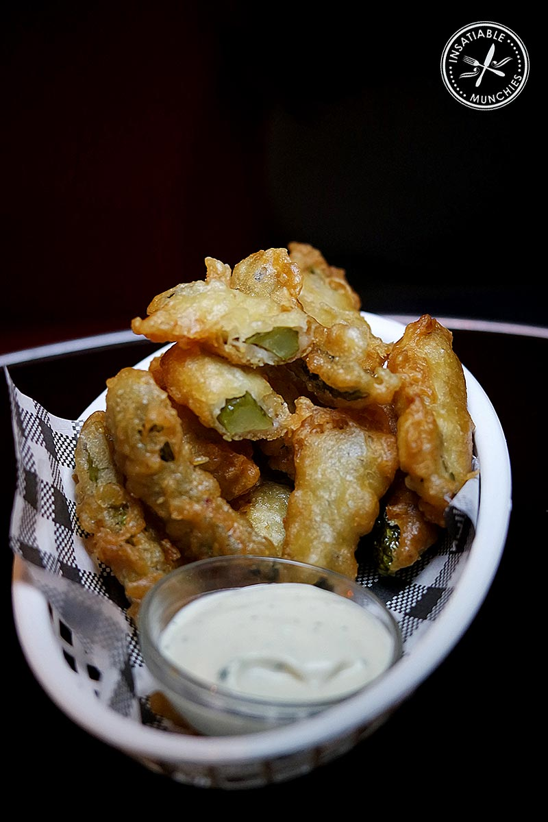 Deep Fried Pickles, $9