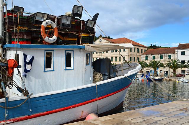 Harbour, Vela Luka, Korcula, Croatia