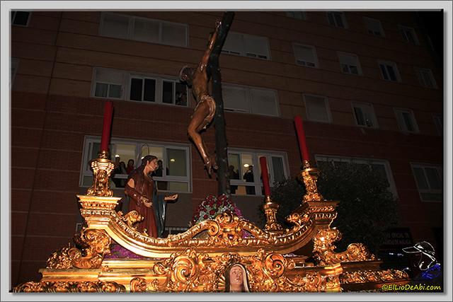 14 Semana Santa en Málaga. Cristo de Mena y Legionarios