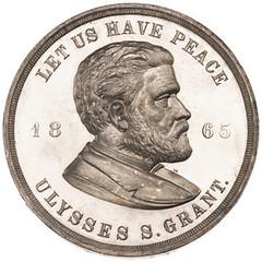 1865 Grant medal obverse