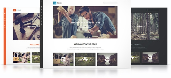 YooTheme Peak v1.0.7 - Template For Joomla 2.5 & 3.3