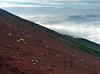 Slopes of Mt Fuji 富士山吉田ルート