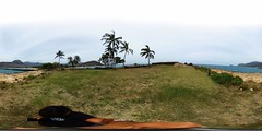 The Kuilioloa Heiau at the Kaneilio Point at the end of Pokai Bay - a 360 degree equirectangular VR