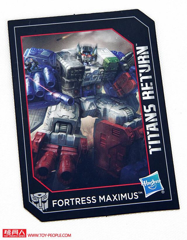變形金剛世代系列《泰坦之戰》Fortress Maximus 福特基地 開箱報告