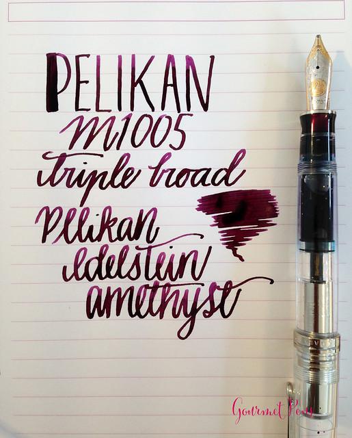 Ink Shot Review Pelikan Edelstein Amethyst @AppelboomLaren @Pelikan_Company (1)