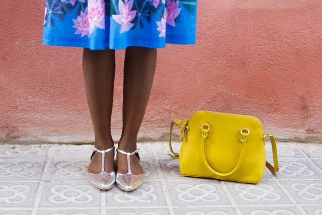 Back to barcelona i want you to know for Boden yellow bag