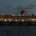 Queen Mary 2- twilight Sydney departure 25-3-2015 by hotsquirrel