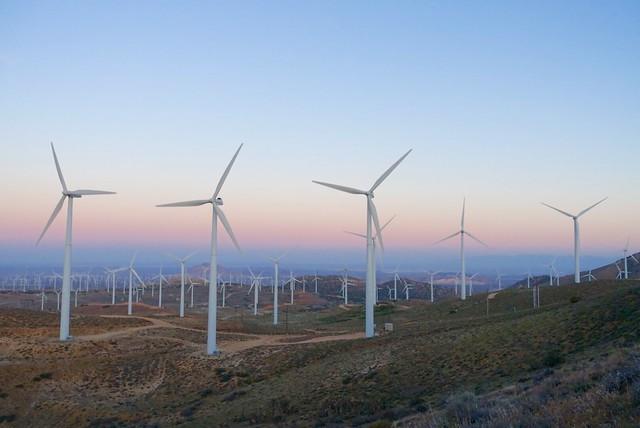 Tehachapi turbines, m556