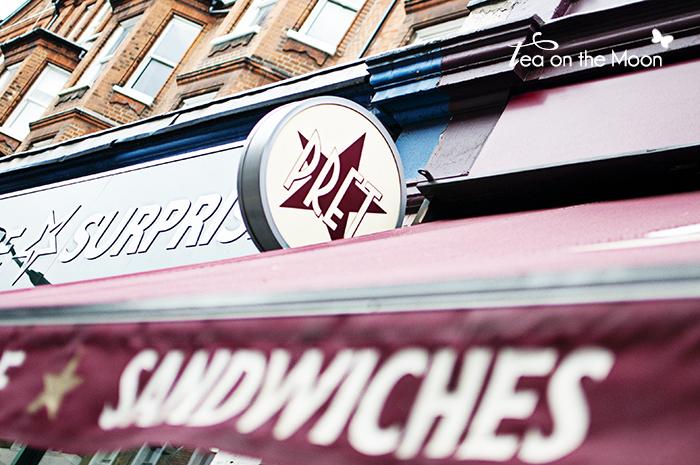 Pret a manger Londres sandwiches