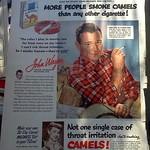 Gotta love the old advertisements. Isn't smoking what killed John Wayne? Great ad though.
