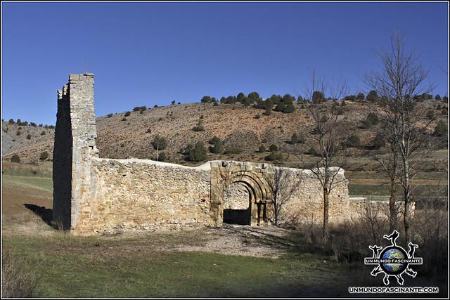 Ermita de San Juan Bautista, Calatañazor, Soria. España.