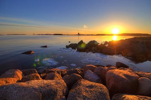 chimney sun set clouds port canon suomi finland landscape eos march power gulf wind scottish sigma turbine hdr thaw kotka 2015 photomatix 1200d