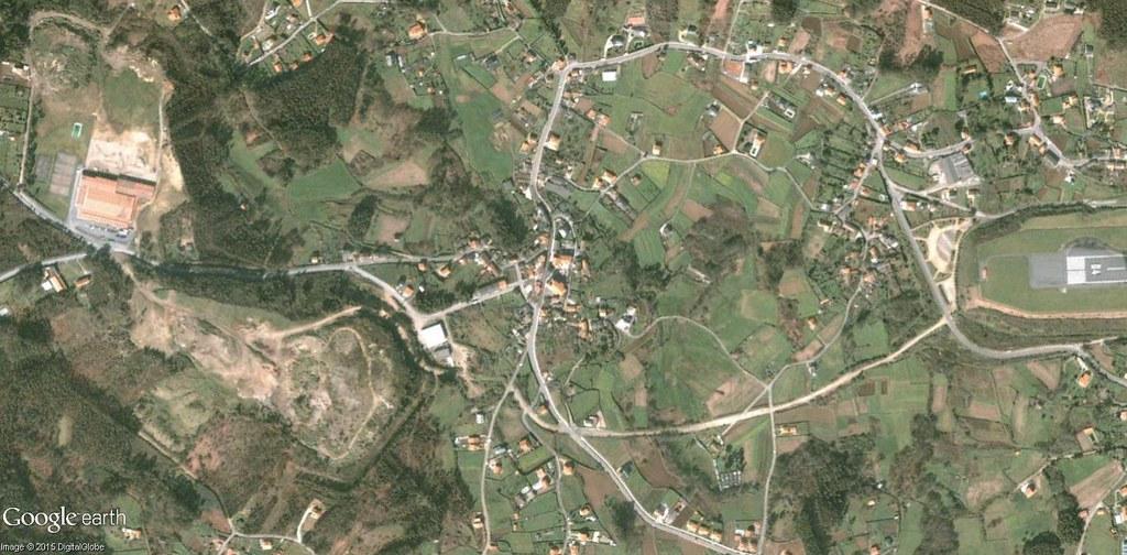 antes, urbanismo, foto aérea, desastre, urbanístico, planeamiento, urbano, construcción,Culleredo, A Coruña