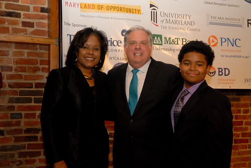 Governor Visit Maryland International Business Awards