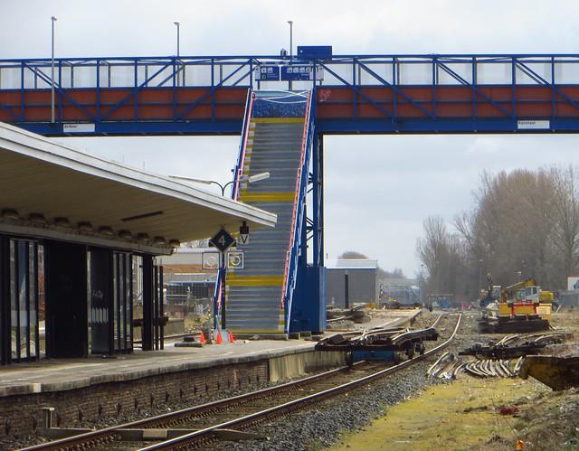 20150321 Delft - afbraak oude spoorbaan