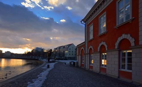 light sunset spring sony norrköping sonynex