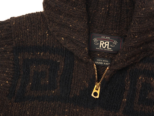 RRL / Wool Shawl-Collar Vest