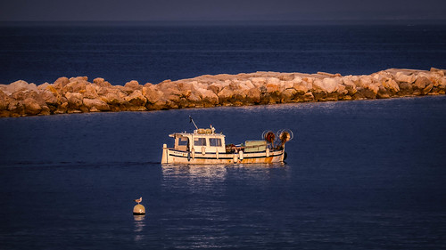 Marseille local fishing boat