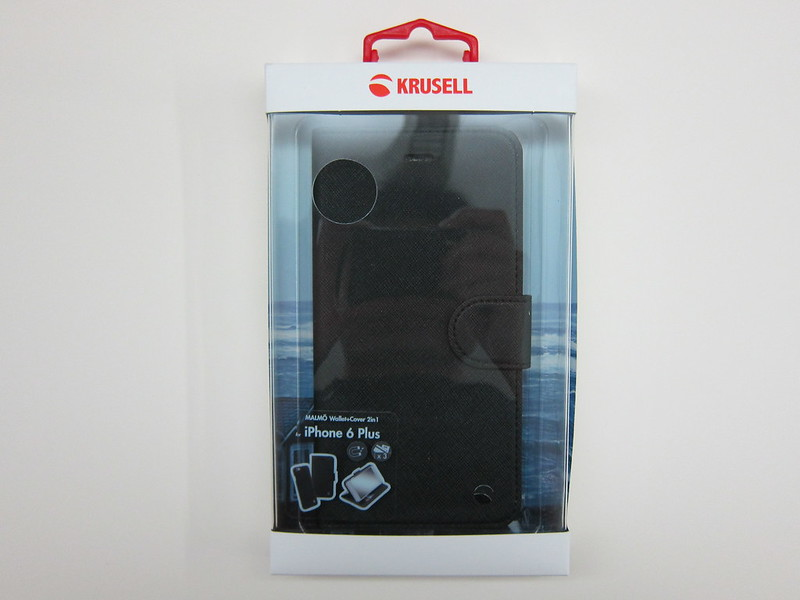 Krusell Malmö Wallet+Cover 2-in-1 for iPhone 6 Plus