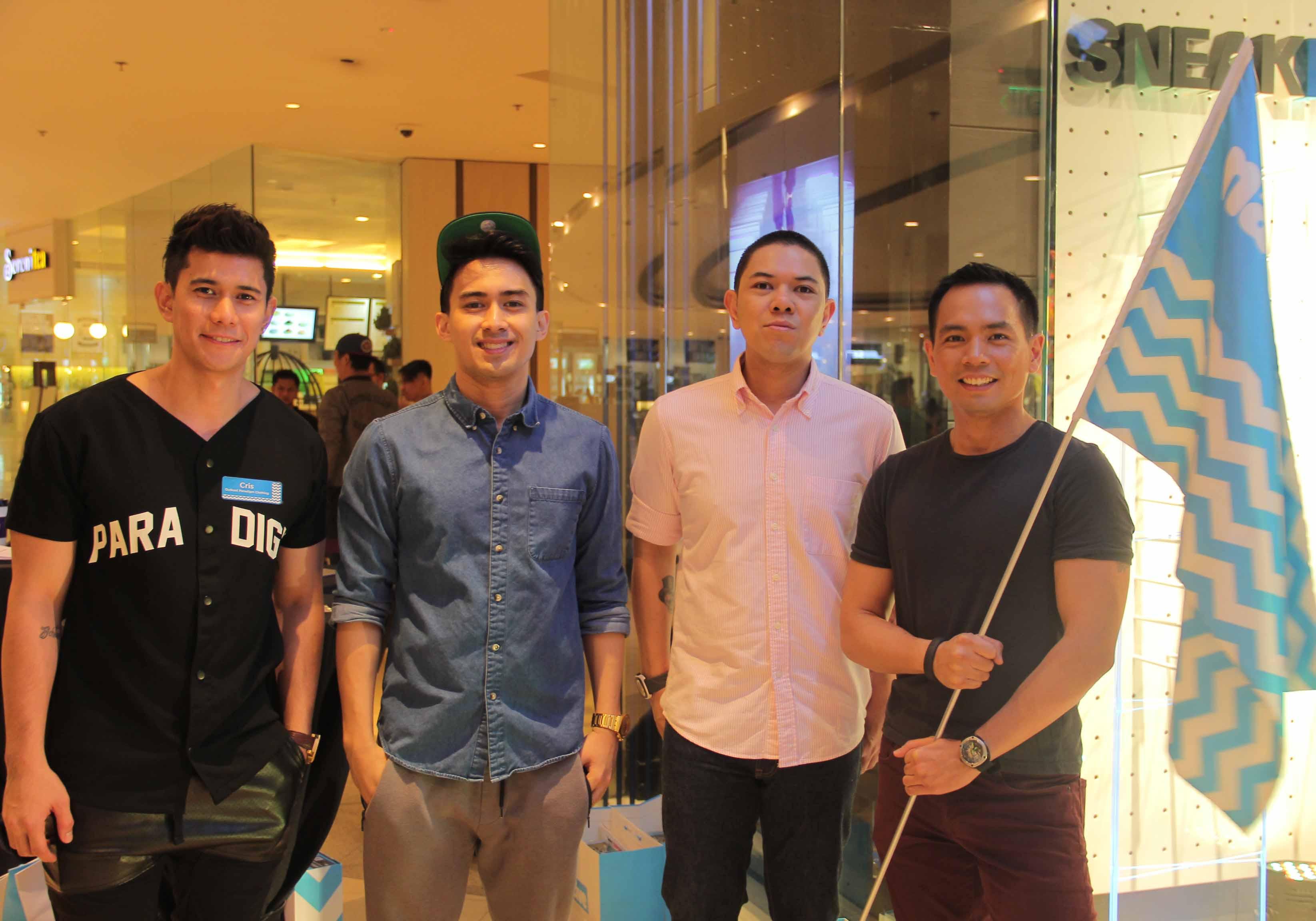 Cris Lamotan, Celebrity Young JV Kapunan, DJ Mars Miranda, & Host Jinno Rufino