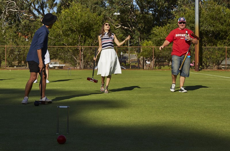 Speed croquet event at The Boulevard