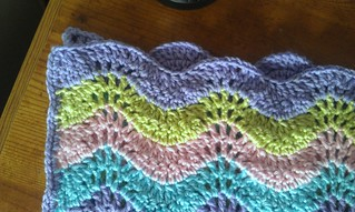 Easy Baby Ripple - Missed Stitches