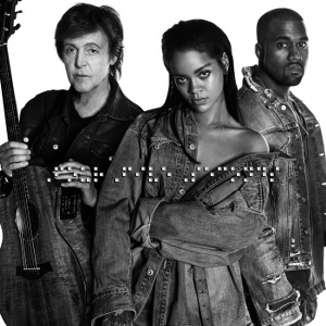 Rihanna, Kanye West & Paul McCartney – FourFiveSeconds