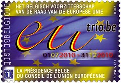 17ter Union Europ timbre