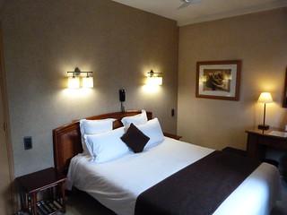 Habitación doble del Inter Hotel le Cantepau (Albi)
