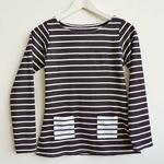 Contrast Stripe Pocket Coco